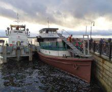 Теплоход «Коммунар» стал музейным судном Северного морского музея