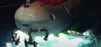 Китайская подводная лодка достигла самой глубокой точки Океана