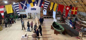 В Архангельске открыли Поморскую верфь и заложили киль шхуны