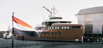77-метровый SeaXplorer La Datcha поставлен и начинает кругосветное путешествие