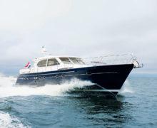 Яхта  Elling, тест драйв