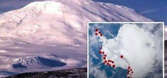 Более 100 вулканов Антарктиды могут сделать Землю непригодной для жизни