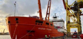 Научное судно «Академик Трешников» ушло в 66-ю антарктическую экспедицию