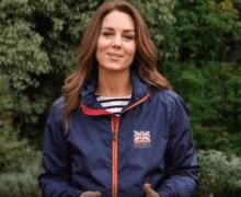 Кейт Миддлтон записала видеообращение в поддержку британской парусной команды