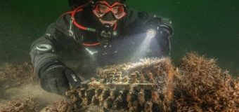 На дне Балтийского моря нашли немецкую шифровальную машину «Энигма»