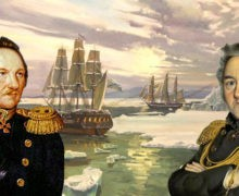 Полярники доставят из Петербурга в Антарктиду памятник Лазареву и Беллинсгаузену