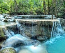Самый красивый водопад Тайланда