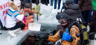 Сто метров подо льдом: россиянка пошла на мировой рекорд в проныре