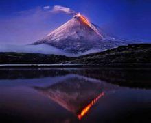 Извержение вулкана Ключевского грозит экосистеме Камчатки и Тихого океана