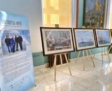 В Нахимовском военно-морском училище открылась выставка «АРИСТОКРАТЫ МОРЕЙ»