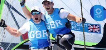 Британцы стали олимпийскими чемпионами по парусному спорту