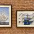В Адмиралтействе завершила работу уникальная выставка «Аристократы морей»