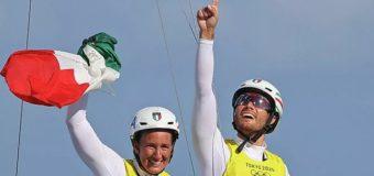 Итальянские яхтсмены выиграли золото Олимпиады
